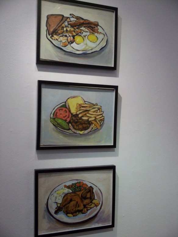 Diner Food Triptych