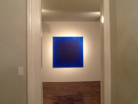 Blue Square Perspective By Peter Alexander