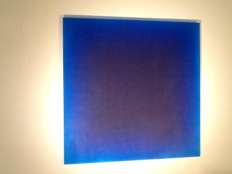Blue Square By Peter Alexander