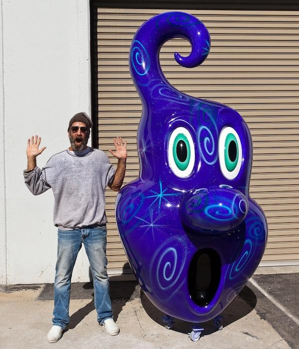 Kenny Scharf Squirtz at the Standard