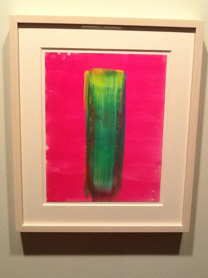 Pink and Green Rod