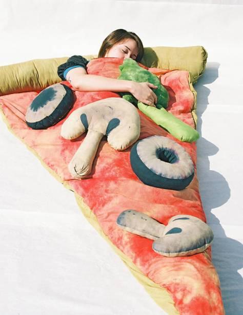 Pizza Slice Sleeping Bag with Child