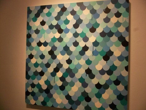 Houser Search Party Turquoise Painting