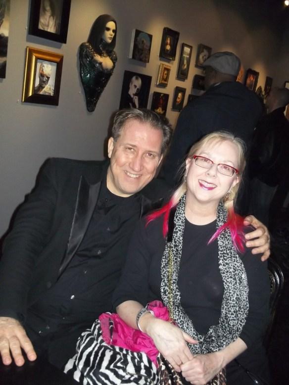 Mark Kostabi and Gail Worley