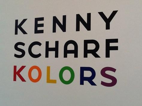 Kenny Scharf Kolors Signage