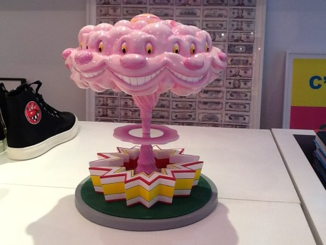 Pink Kenny Scharf Sculpture