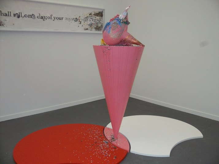 Pink Cone at Frieze