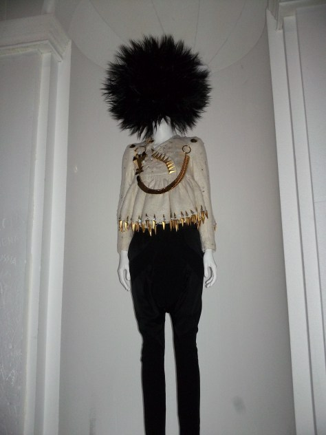 Chaos to Couture Blouse and Black Skirt