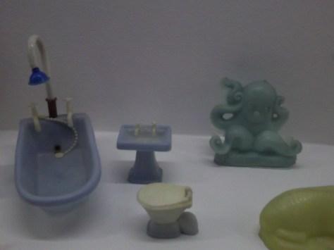 Shower Sink Toilet Octopus