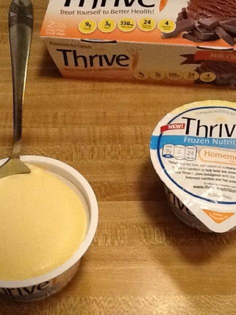 Thrive Ice Cream Vanilla