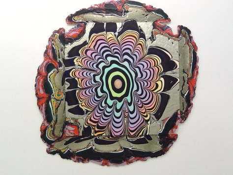 Holton Rower Pour Paintings 3