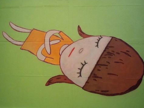Yoshitomo Nara Sleeping Girl