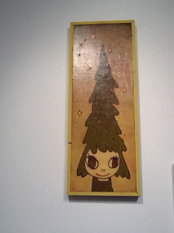 Yoshitomo Nara Girl with Tree Head