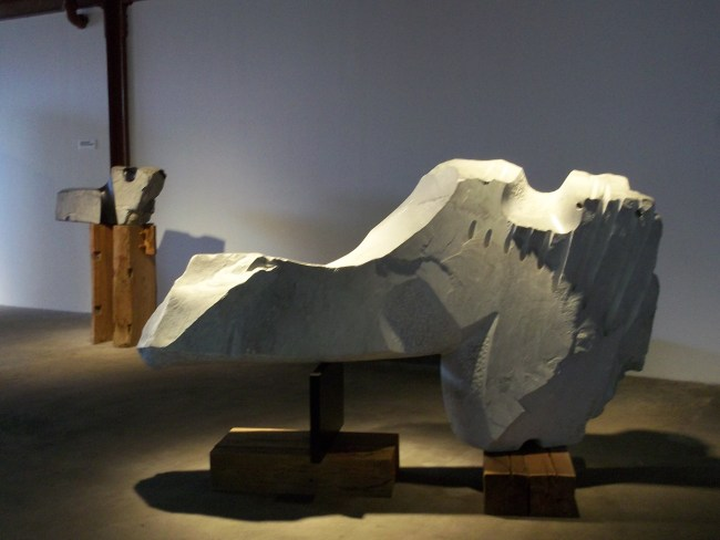 Stone Noguchi Sculpture