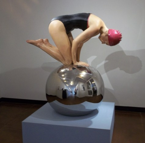 Feuerman Swimmer On Ball