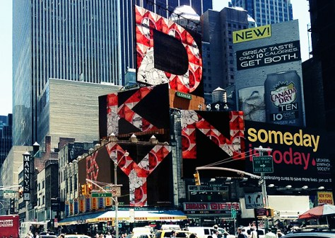 How Nosm DKNY Billboard