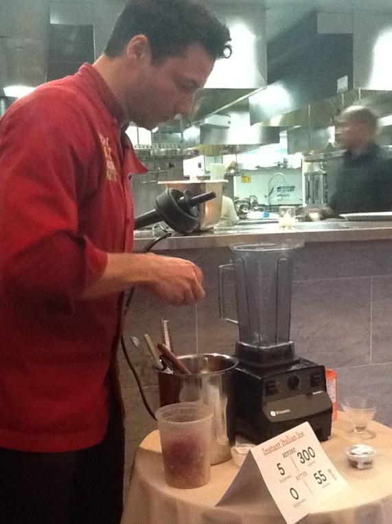 Rocco Making Dessert