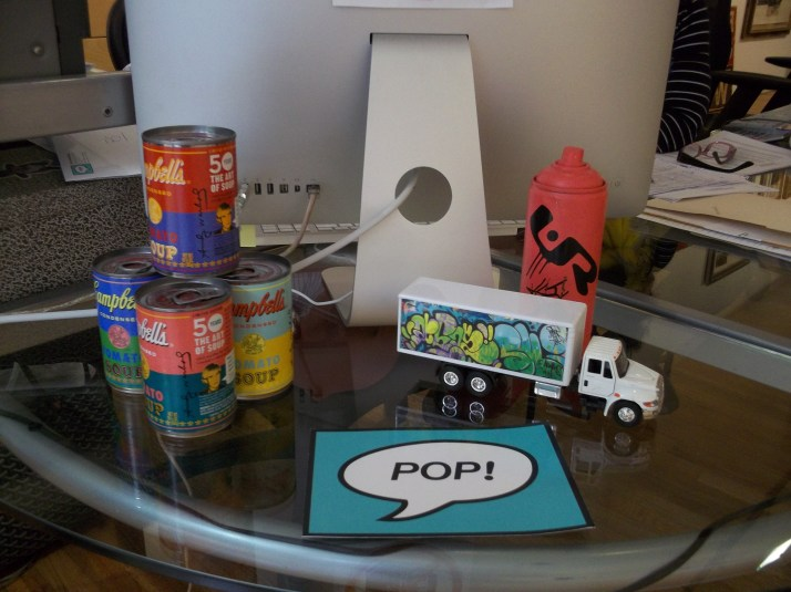 Warhol Mini Campbells Soup Cans