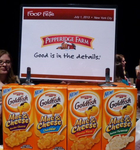 Pepperidge Farm Mac and Cheese Goldfish