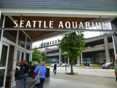 Seattle Aquarium Signage