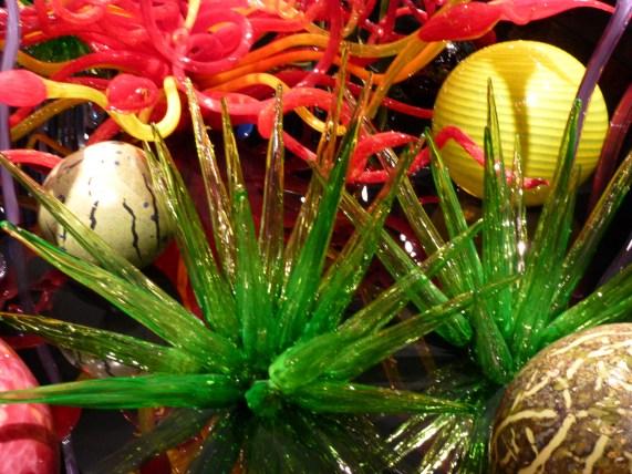 Mille Fiori Green Cactuses