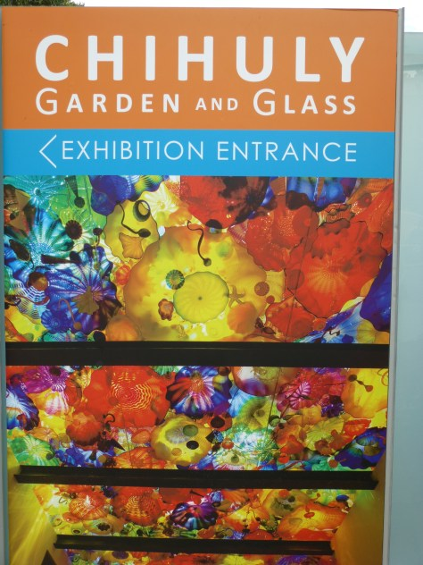 Chihuly Garden and Glass Signage