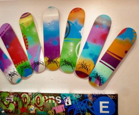 Cope 2 Skate Decks photo by gail worley