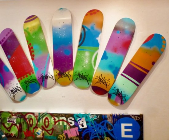 Cope 2 Skate Decks photo by gail worley