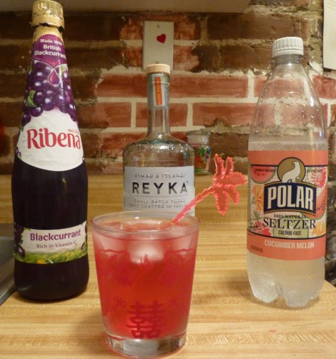 Polar Seltzer and Ribena