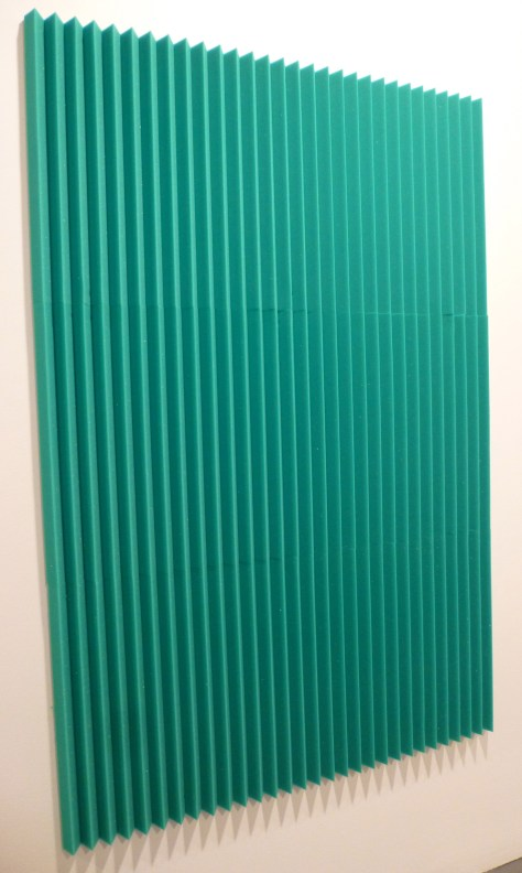 Green Folded Painting