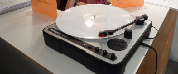 Kim Gordon Recording on White Vinyl