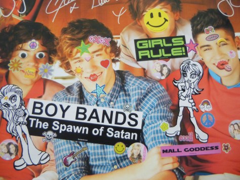 Boy Band Poster By Bruce Pavlow
