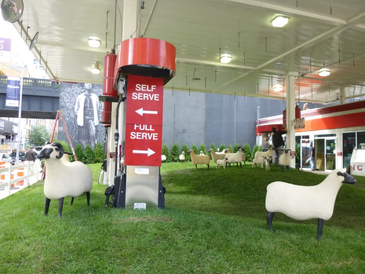 Francois Xavier Lalanne Sheep Station with Pumps