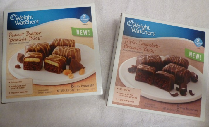 Weight Watchers Brownie Bliss Packaging
