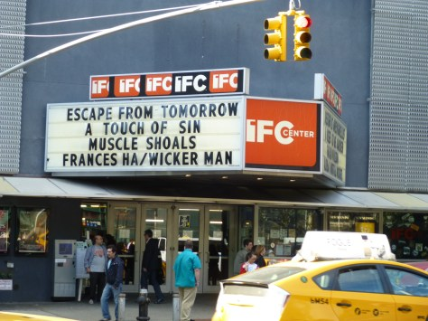 Escape From Tomorrow Marquee