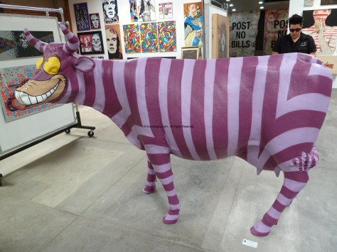 Cheshire Cow by Rabi