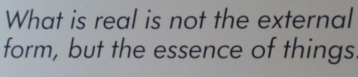 Brancusi Quote Essence