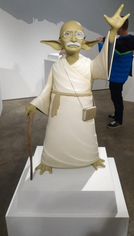 Ghandi as Yoda