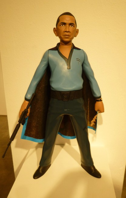 Obama as Lando Calrissian