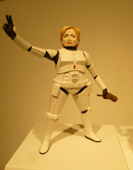 Hillary Clinton as a Stormtrooper
