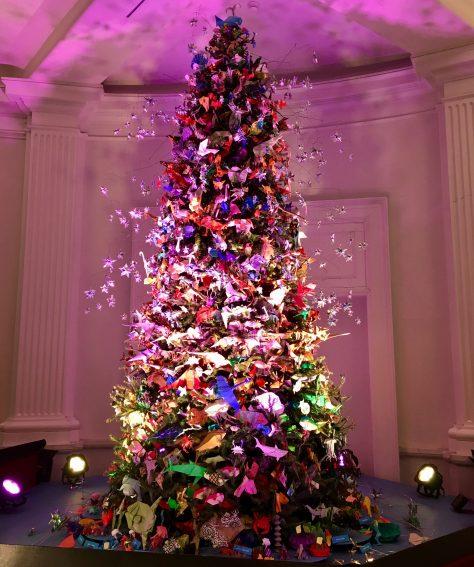Origami Holiday Tree 2018