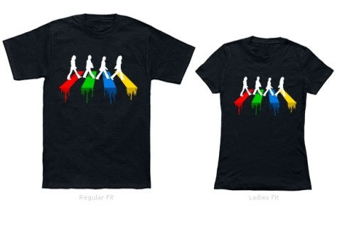 Abbey Road in Colors Shirts