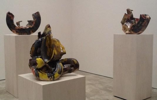 Lynda Benglis 3 Tire Sculptures