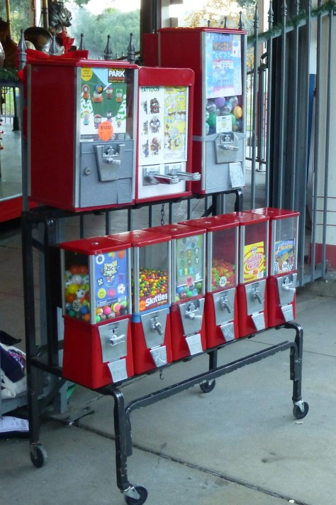 Griffith Park MGR Gumball Machines