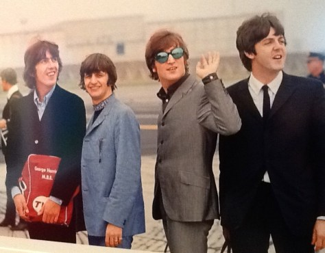 The Beatles at Airport