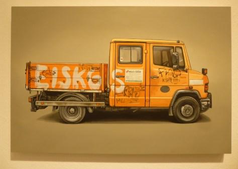 Kevin Cyr Orange Truck
