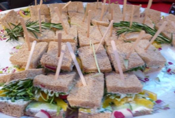 Vegetable Sandwiches