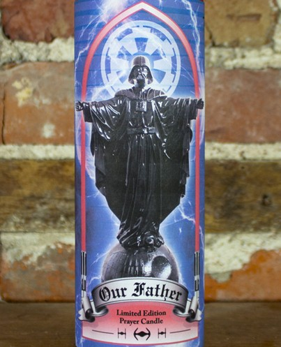 Sket One Our Father Vader Blue Candle
