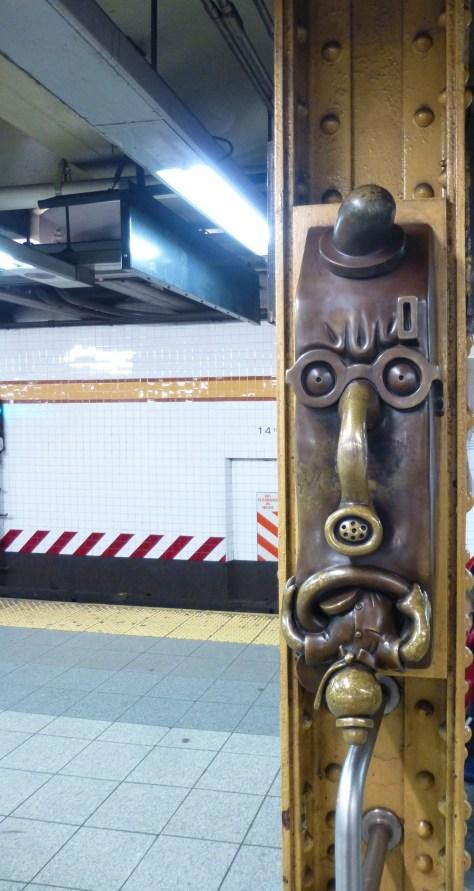 Tom Otterness Phone Sculpture