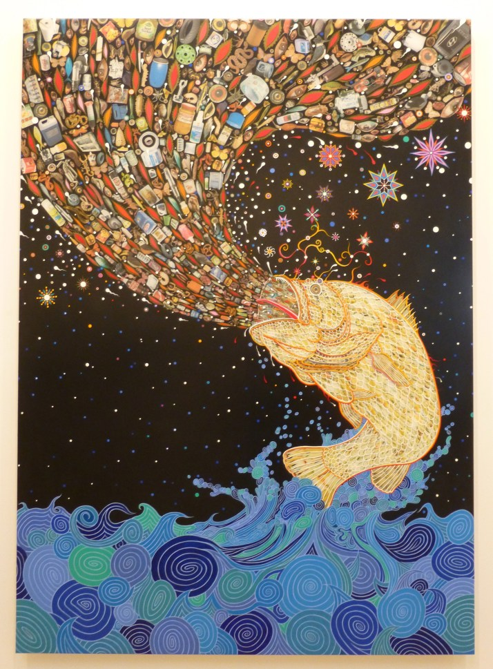 Gyre By Fred Tomaselli